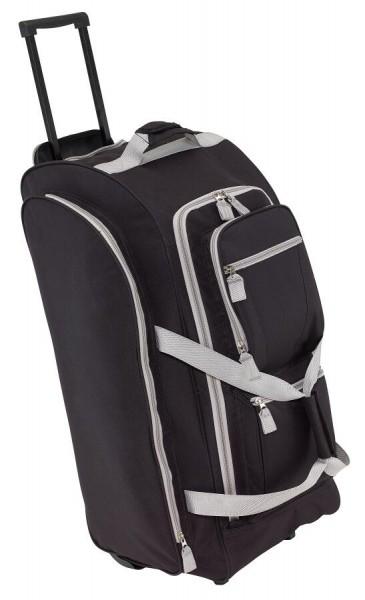 Trolley-Reisetasche 9P in schwarz, grau