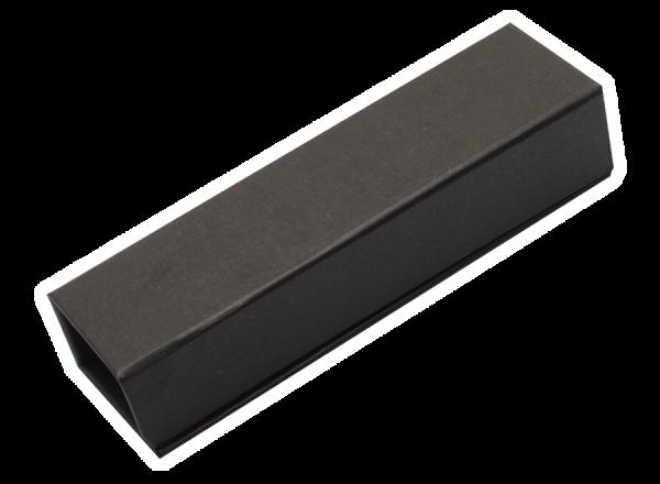 Geschenkkästchen aus Karton, schwarz