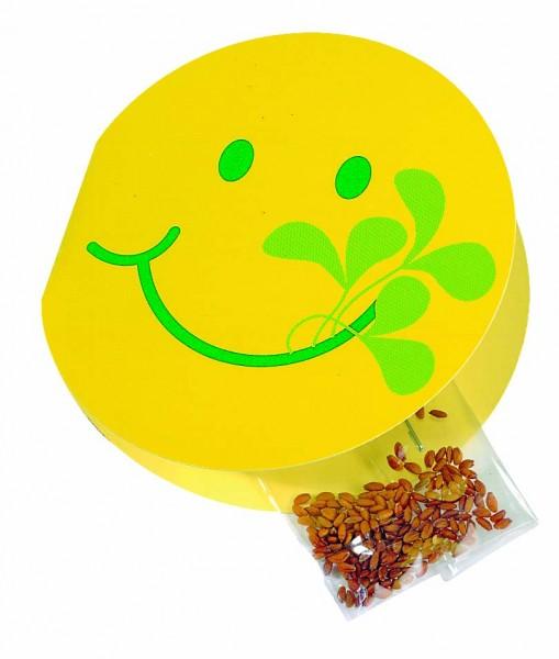 Klappkärtchen Smiley fit , Kresse, 1-4 c Digitaldruck inklusive