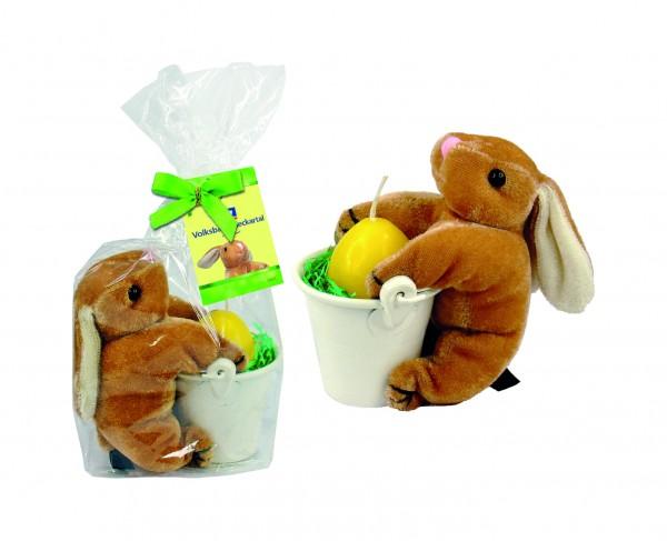 Geschenk-Set Hase, 1-4 c Digitaldruck inklusive