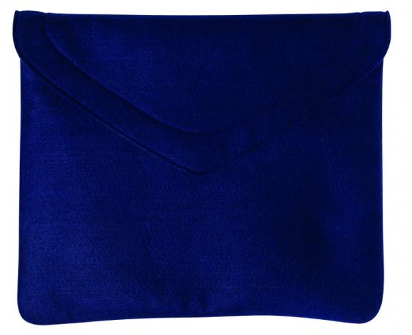 Polyesterfilz Laptop-Tasche (Filzstärke: ca. 2,5 mm) - dunkelblau - optional mit Siebdrucktransfer