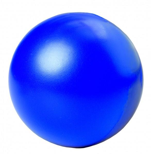 SQUEEZIES® Ball - blau (Größe: ca. 7 cm Durchmesser) - optional mit Tampondruck