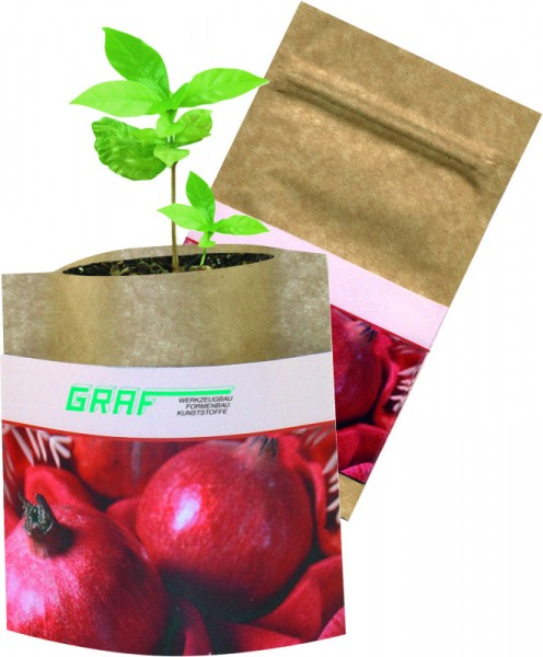 Natur-Bag Granatapfel, 1-4 c Digitaldruck inklusive