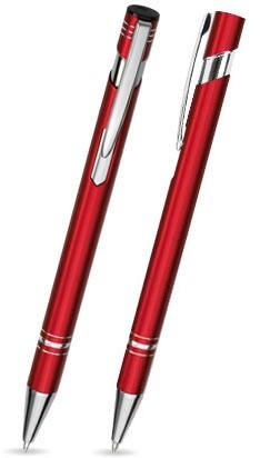 LANDO Roter Metallkugelschreiber