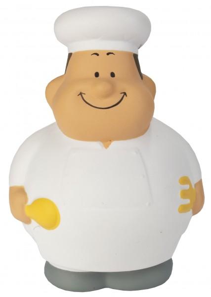 SQUEEZIES® Gourmet Bert® - bunt (Größe: ca. 10 cm) - optional mit Tampondruck
