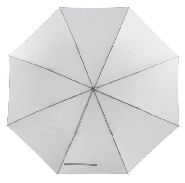 Aluminium-Stockschirm HIP HOP in weiß