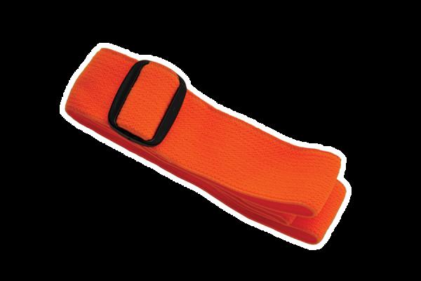 Elastisches Band für Stirnlampe 'Orkanger', orange