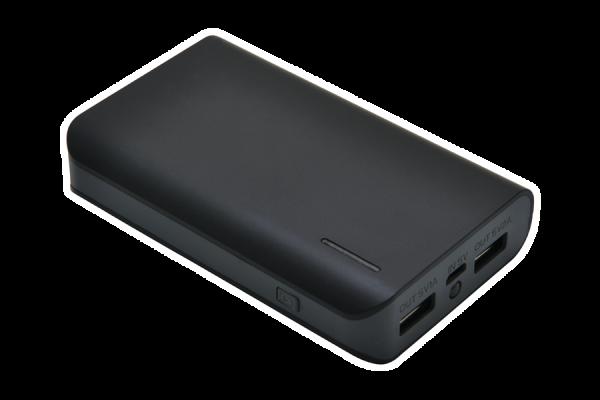 Powerbank S6600, schwarz