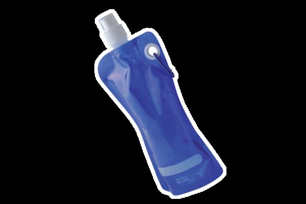 Trinkbeutel 'Kinzig', blau mit Gelfüllung