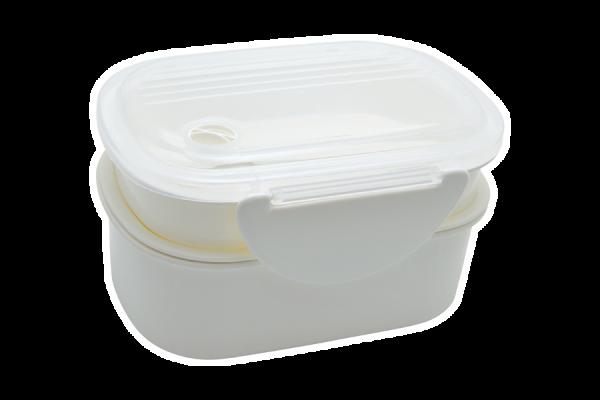 Lunchbox weiß 'Kobe'