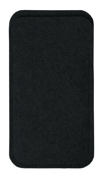 Wollfilz Smartphone Tasche (Filzstärke: 2 mm) - optional mit Siebdrucktransfer