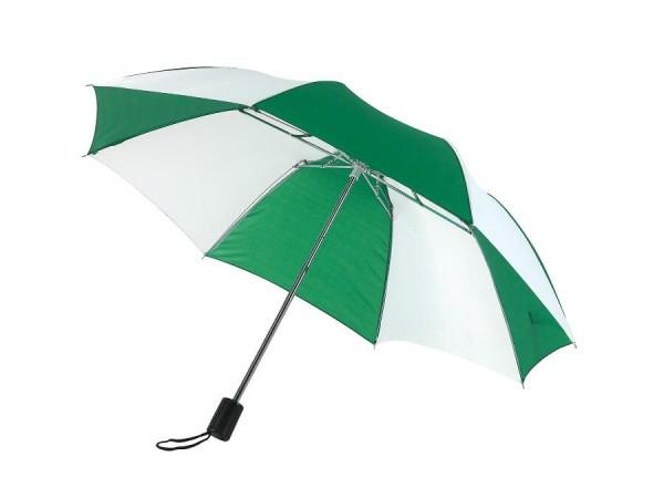 Taschenschirm REGULAR in grün, weiß