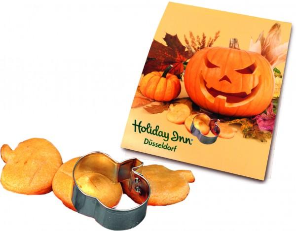 Backe Deinen Halloween Kürbis, 1-4 c Digitaldruck inklusive