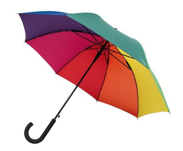 Windproof-Stockschirm WIND in regenbogen