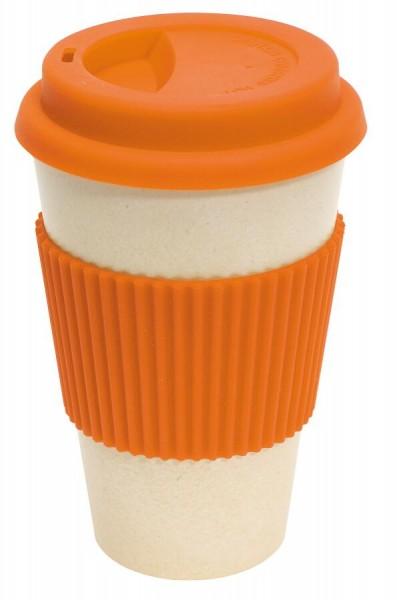 Kaffee-Becher ECO CUP in orange