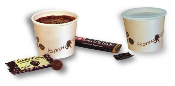 Espresso 2Go, 1-4 c Digitaldruck inklusive