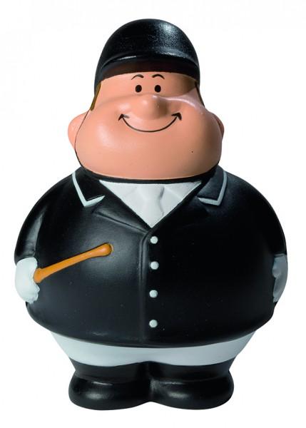 SQUEEZIES® Reiter Bert® - bunt (Größe: ca. 10 cm) - optional mit Tampondruck