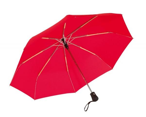 Windproof-Taschenschirm BORA in rot