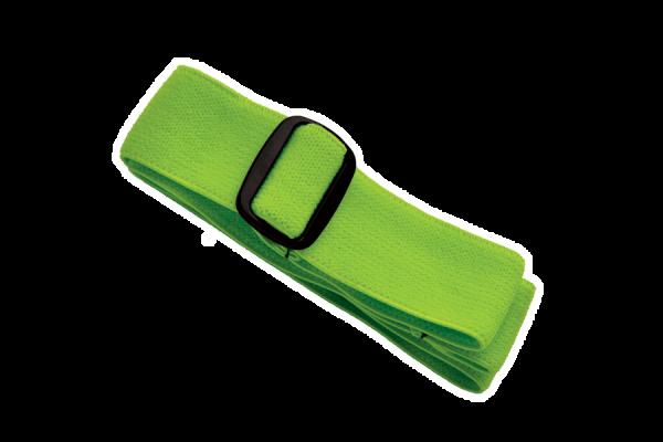 Elastisches Band für Stirnlampe 'Orkanger', grün