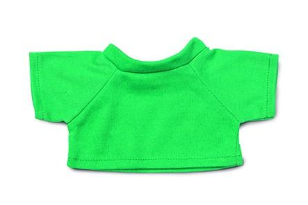 Mini-T-Shirt Gr. M - grün (Größe: passend für Plüschtiere) - optional mit Siebdrucktransfer