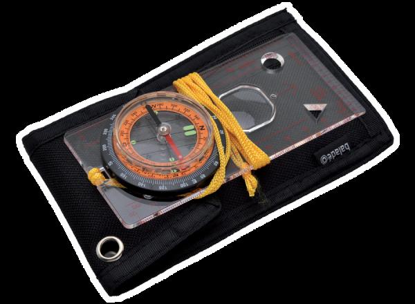Kartenkompass mit Etui