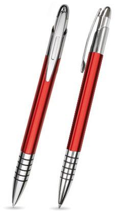 Rot matter ZEN -Metallkugelschreiber inkl. gratis Laser-Gravur mit Namen, Text oder Logo
