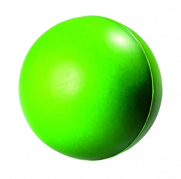 SQUEEZIES® Ball Farbwechsel - grün (Größe: ca. 6,3 cm Durchmesser) - optional mit Tampondruck