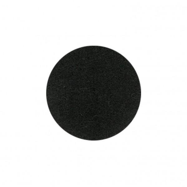 Wollfilz Untersetzer, rund (Filzstärke: 3 mm) - optional mit Siebdrucktransfer