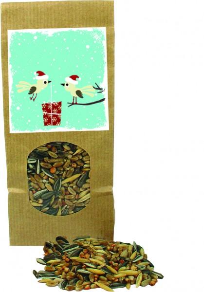 Vogel-Festmahl, 1-4 c Digitaldruck inklusive