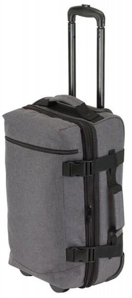 Trolley-Reisetasche VISBY in grau, schwarz