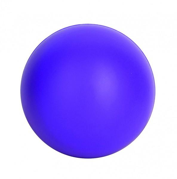 SQUEEZIES® Ball - lila (Größe: ca. 7 cm Durchmesser) - optional mit Tampondruck