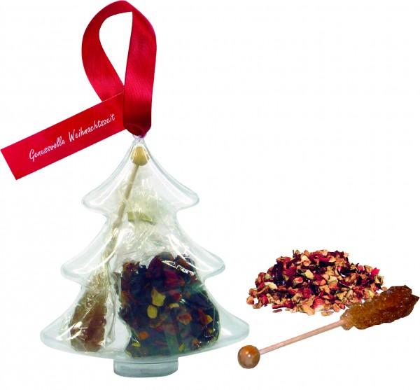Tee im Tannenbaum, 1-4 c Digitaldruck inklusive
