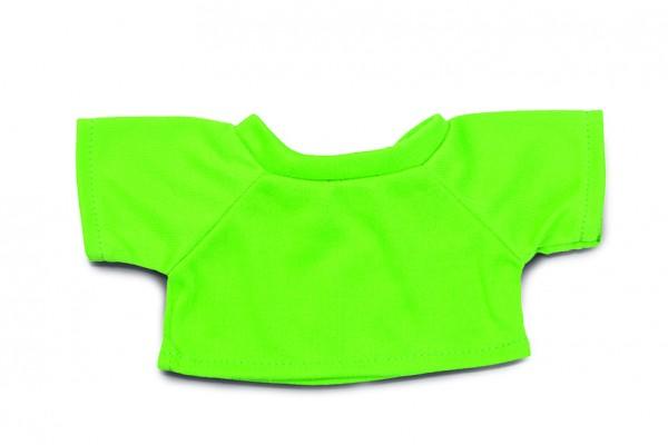Mini-T-Shirt Gr. M - hellgrün (Größe: passend für Plüschtiere) - optional mit Siebdrucktransfer
