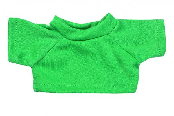 Mini-T-Shirt Gr. S - grün (Größe: passend für Plüschtiere) - optional mit Siebdrucktransfer