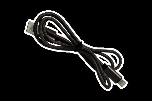2 in 1 Kabel 'Hartsfield', schwarz