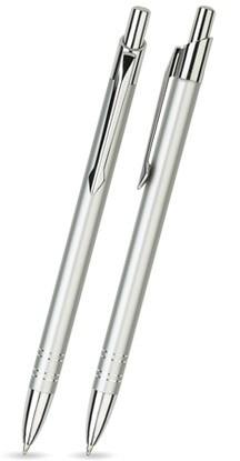 LOLA Silber glänzender Metallkugelschreiber