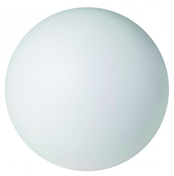 SQUEEZIES® Ball - weiß (Größe: ca. 7 cm Durchmesser) - optional mit Tampondruck