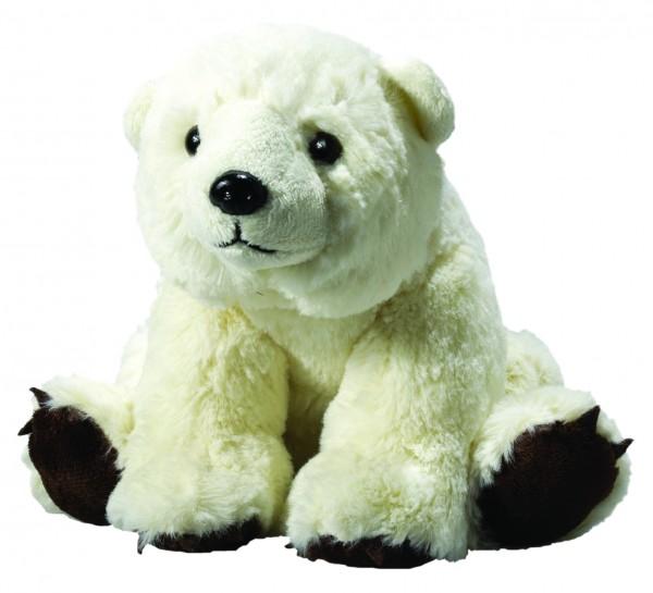 Plüsch Eisbär Lia - weiß (Größe: ca. 19 cm) - optional mit Siebdrucktransfer, Direkttransfer