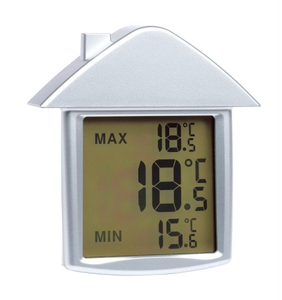 Thermometer COMFORT in silber