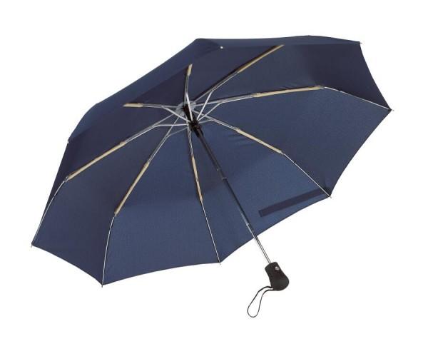 Windproof-Taschenschirm BORA in marineblau