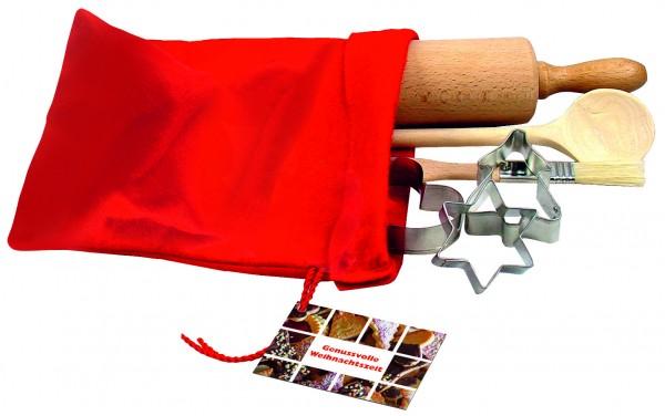 Backset im Filzsäckchen, 1-4 c Digitaldruck inklusive
