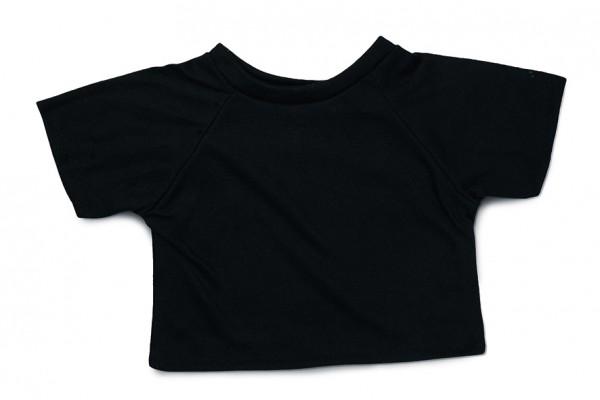Mini-T-Shirt Gr. XL - schwarz (Größe: passend für Plüschtiere) - optional mit Siebdrucktransfer