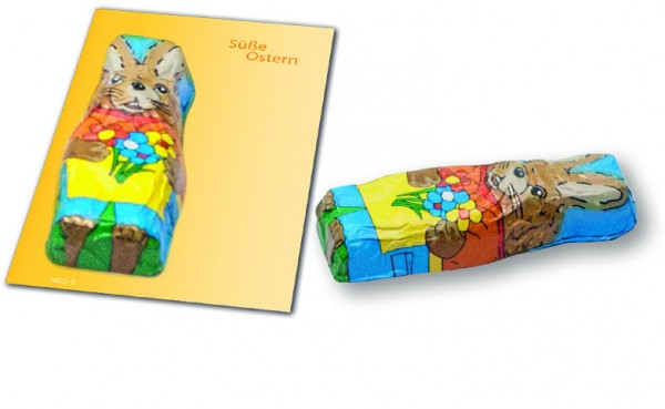 Karte Süße Ostern, 1-4 c Digitaldruck inklusive