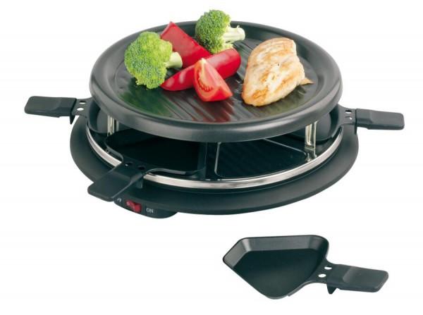 Raclette-Grill FAMILY in schwarz