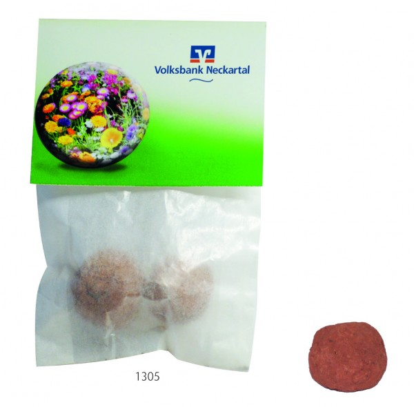Wonder Ball, bunte Blumenmischung, 1-4 c Digitaldruck inklusive
