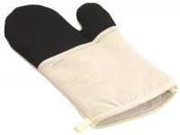 Grillhandschuh STAY COOL in schwarz, beige