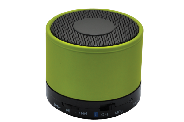 Kabelloser Mini-Lautsprecher 'Thunder Bay', grün