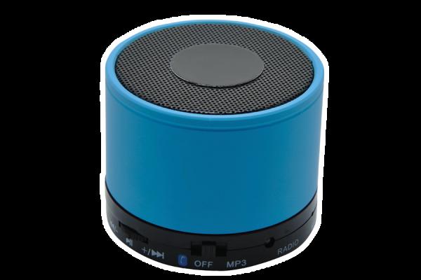 Kabelloser Mini-Lautsprecher 'Thunder Bay', blau
