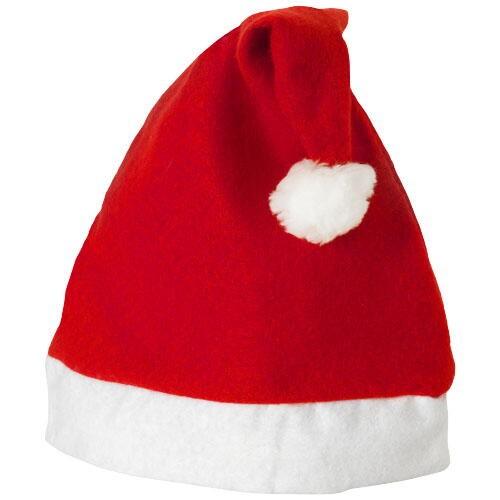 Weihnachtsmütze in versch. Farben mit Transfer