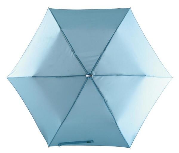 Flacher Mini-Taschenschirm FLAT in hellblau